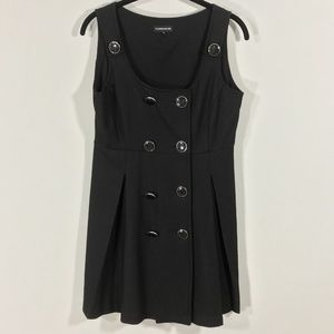 Warehouse Jumper Dress Retro Sleeveless Pleated 10